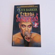 Libros de segunda mano: TERROR LIBROS SANGRIENTOS 1 CLIVE BARKER MARTINEZ ROCA . Lote 149675682