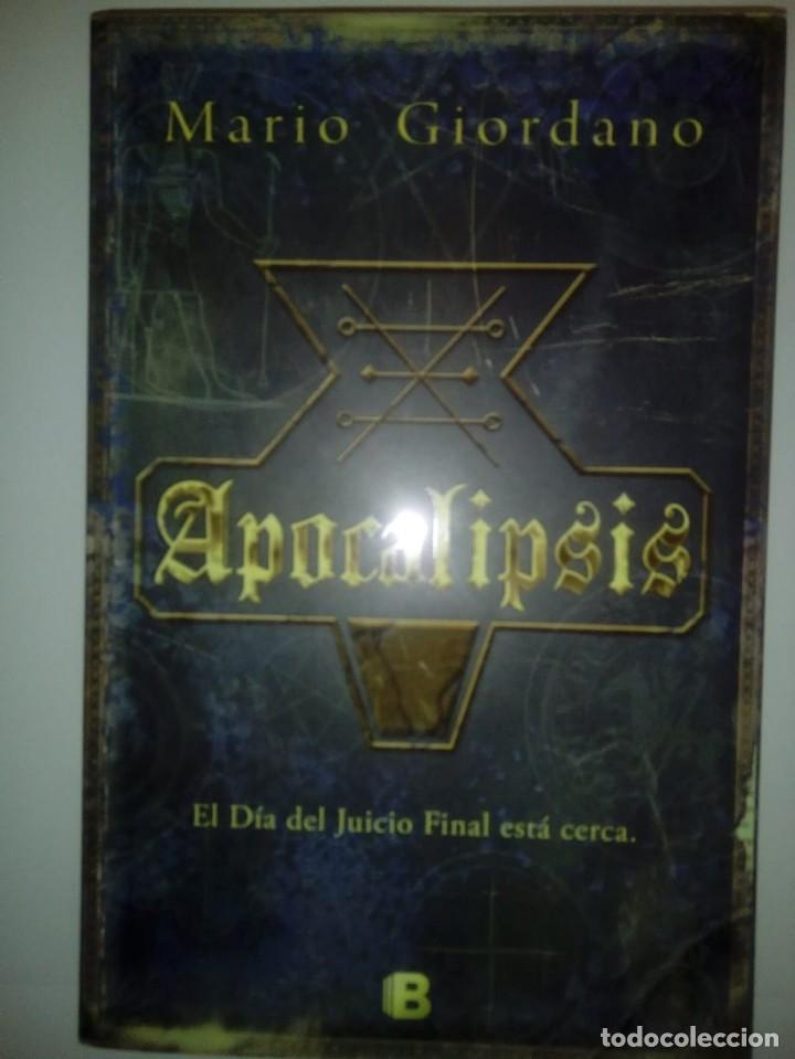 APOCALIPSIS- MARIO GIORDANO, 2012. (Libros de Segunda Mano (posteriores a 1936) - Literatura - Narrativa - Ciencia Ficción y Fantasía)