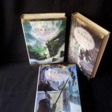 Libros de segunda mano: J.R.R TOLKIEN - EL SEÑOR DE LOS ANILLOS - 3 TOMOS - EDITORIAL MINOTAURO 2002. Lote 149735658