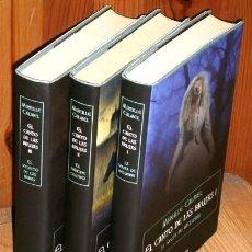 Libros de segunda mano: TRILOGÍA EL CANTO DE LAS BRUJAS 3T POR MIREILLE CALMEL DE CÍRCULO DE LECTORES EN BARCELONA 2011. Lote 150523994