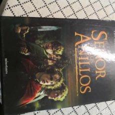Libros de segunda mano: ANILLOS LOS ALBUMES DE LAS TRES PELICULAS PACK 3 LIBROS EDICION LUJO MINOTAURO 2002 MIDE 34X22. Lote 150596206