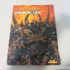 Libros de segunda mano: FANTASIA WARHAMMER CIENCIA FICCION HORDAS DEL CAOS GAMES WORKSHOP. Lote 150714990