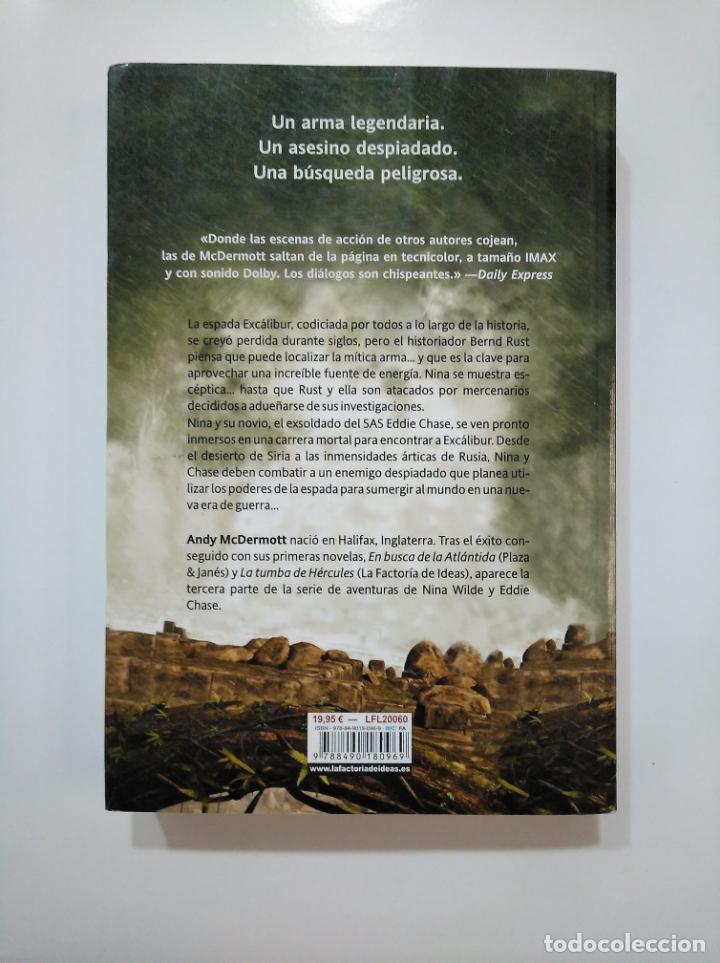 Libros de segunda mano: EL SECRETO DE EXCALIBUR. -ANDY MCDERMOTT. LA FACTORIA DE IDEAS. TDK361 - Foto 2 - 150818438