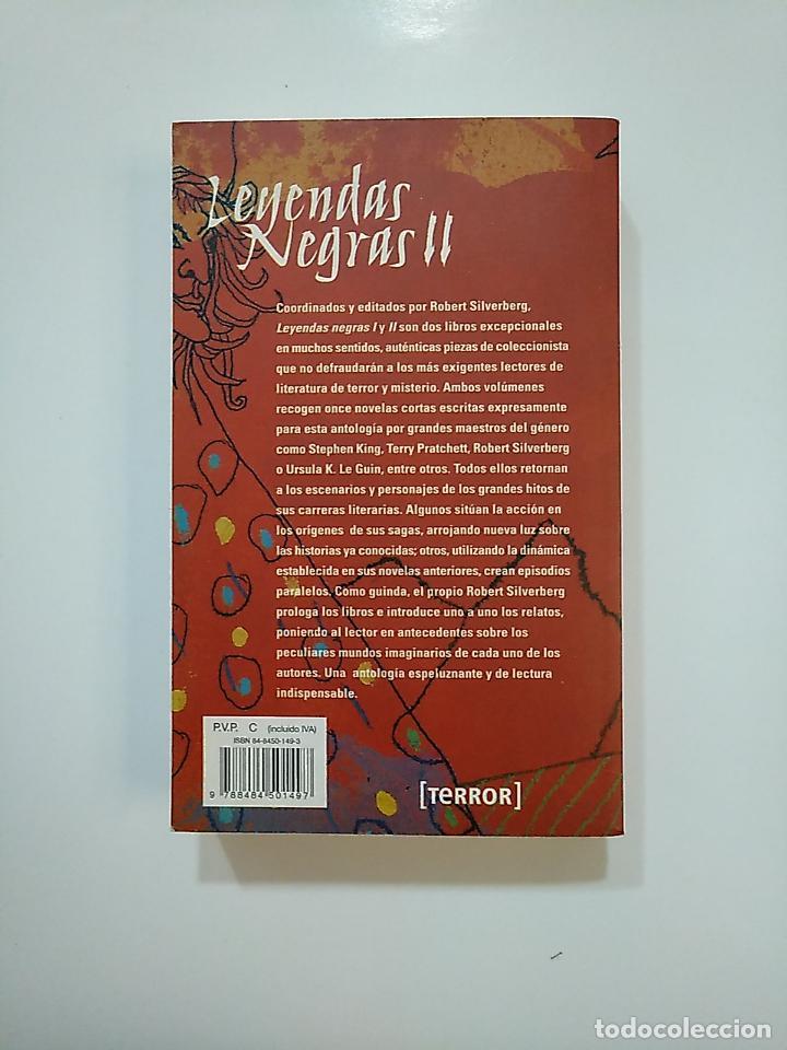 Libros de segunda mano: LEYENDAS NEGRAS II. PLAZA Y JANÉS DE BOLSILLO. EDITADO POR ROBERT SILVERBERG. TDK362 - Foto 2 - 151060682