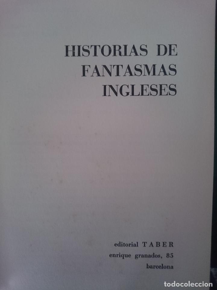 HISTORIAS DE FANTASMAS INGLESES (Libros de Segunda Mano (posteriores a 1936) - Literatura - Narrativa - Ciencia Ficción y Fantasía)