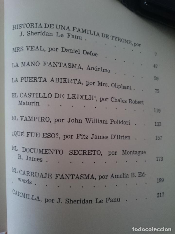 Libros de segunda mano: Historias de fantasmas ingleses - Foto 2 - 151125822