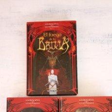 Libros de segunda mano: LOS PROSCRITOS Y LOS DESTERRADOS LIBROS 1-2-3 COMPLETA - JAMES CLEMENS - TIMUN MAS - 2001. Lote 219184435