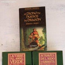 Libros de segunda mano: AÑORANZAS Y PESARES LIBROS 1,3,4, -TAD WILLIAMS - TIMUN MAS 1993 - . Lote 151662146