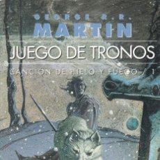 Libros de segunda mano: GEORGE R.R. MARTIN - JUEGO DE TRONOS - EDICIONES GIGAMESH 2002. Lote 151923330