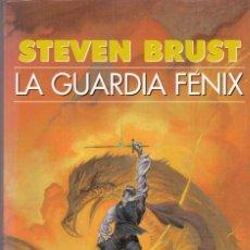 Libros de segunda mano: STEVEN BRUST - LA GUARDIA FÉNIX - EDICIONES GIGAMESH 2002. Lote 151924614