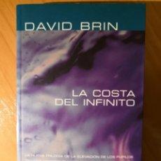 Libros de segunda mano: LA COSTA DEL INFINITO. DAVID BRIN. NOVA DE CIENCIA FICCÓN. Nº 127. . Lote 152582502
