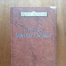 Libros de segunda mano: EL VALLE DEL VIENTO HELADO, REINOS OLVIDADOS, SALVATORE, EDICION PARA COLECCIONISTAS, TIMUN MAS 2005. Lote 152595002