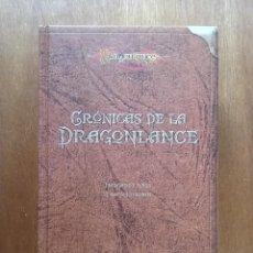 Libros de segunda mano: CRONICAS DE LA DRAGONLANCE, MARGARET WEIS, TRACY HICKMAN, EDICION PARA COLECCIONISTAS TIMUN MAS 2004. Lote 152595118
