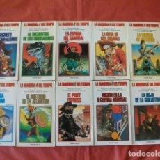 Libros de segunda mano: LA MÁQUINA DEL TIEMPO, LOTE 10 LIBRO JUEGO TIMUN MAS, Nº 1, 2, 3, 4, 5, 7 ,8 , 9, 11,14.. Lote 152755610