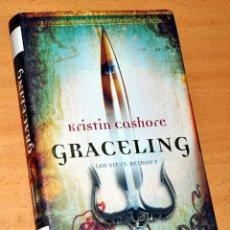 Libros de segunda mano: GRACELING - LOS SIETE REINOS I - DE KRISTIN CASHORE - EDITORIAL ROCA LIBROS - 1ª EDICIÓN - AÑO 2009. Lote 157748162
