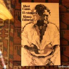 Libros de segunda mano: EL EXTRANJERO. ALBERT CAMUS. COMO NUEVO. Lote 153234202