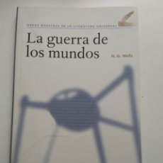 Libros de segunda mano: LA GUERRA DE LOS MUNDOS/H.G.WELLS. Lote 153401222