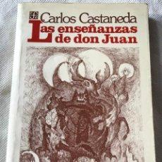 Libros de segunda mano: LIBRO LAS ENSEÑANZAS DE DON JUAN . Lote 153884374