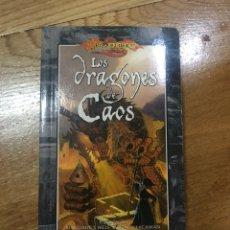 Libros de segunda mano: LOS DRAGONES DE CAOS MARGARET WEIS Y TRACY HICKMAN. Lote 153896144
