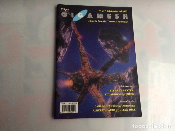 REVISTA GIGAMESH Nº 27 CIENCIA FICCION, TERROR Y FANTASÍA (Libros de Segunda Mano (posteriores a 1936) - Literatura - Narrativa - Ciencia Ficción y Fantasía)