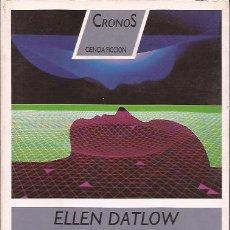 Libros de segunda mano: NOVELA SEXO ALIENIGENA ELLEN DATLOW CIENCIA FICCION DESTINO CRONOS. Lote 154748674