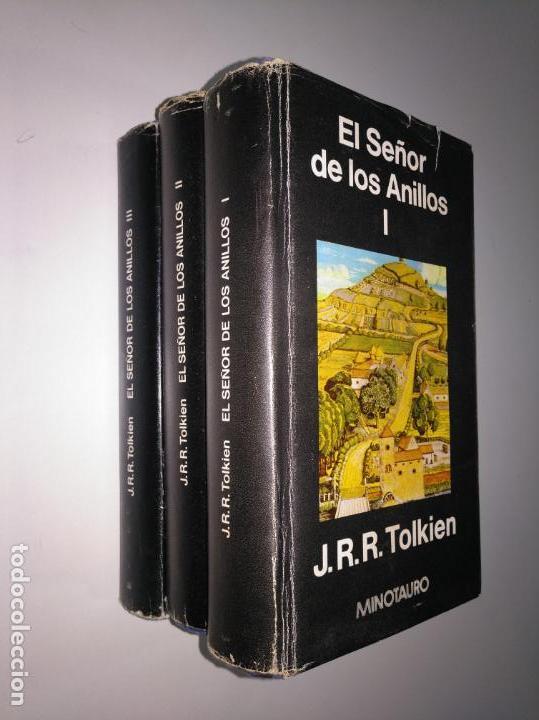 EL SEÑOR DE LOS ANILLOS. 3 TOMOS. I, II Y III. EDITORIAL MINOTAURO. TDK375 (Libros de Segunda Mano (posteriores a 1936) - Literatura - Narrativa - Ciencia Ficción y Fantasía)