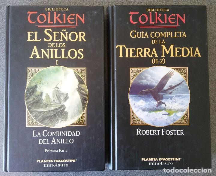 EL SEÑOR DE LOS ANILLOS LA COMUNIDAD DEL ANILLO GUIA COMPLETA DE LA TIERRA MEDIA (Libros de Segunda Mano (posteriores a 1936) - Literatura - Narrativa - Ciencia Ficción y Fantasía)