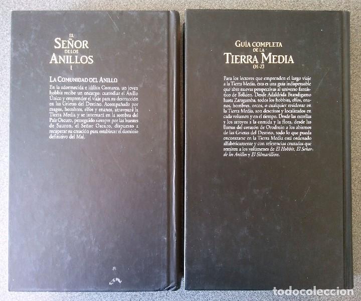 Libros de segunda mano: El Señor de los Anillos La Comunidad del Anillo Guia Completa de la Tierra Media - Foto 2 - 155249982