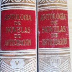 Libros de segunda mano: ANTOLOGÍA DE NOVELAS DE ANTICIPACIÓN (VOLS. V Y VIII) - ACERVO, 1965/1967 - CIENCIA FICCIÓN. Lote 155537106
