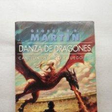 Libros de segunda mano: DANZA DE DRAGONES. GEORGE R.R. MARTIN. Lote 155544462