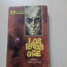 Libros de segunda mano: LOS RITOS DE OHE - JOHN BRUNNER. Lote 155558686