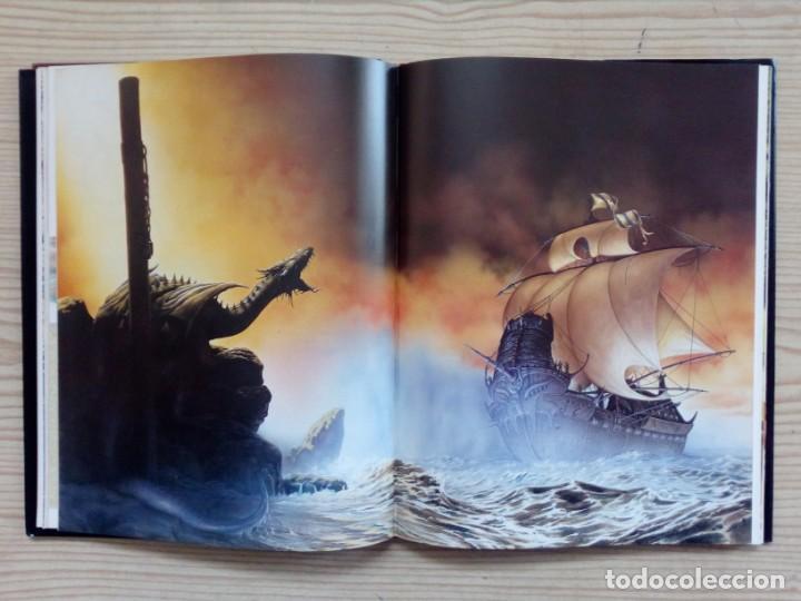 Libros de segunda mano: El Gran Libro Del Dragon - Ilustraciones De Ciruelo - Timun Mas - Foto 2 - 155867674