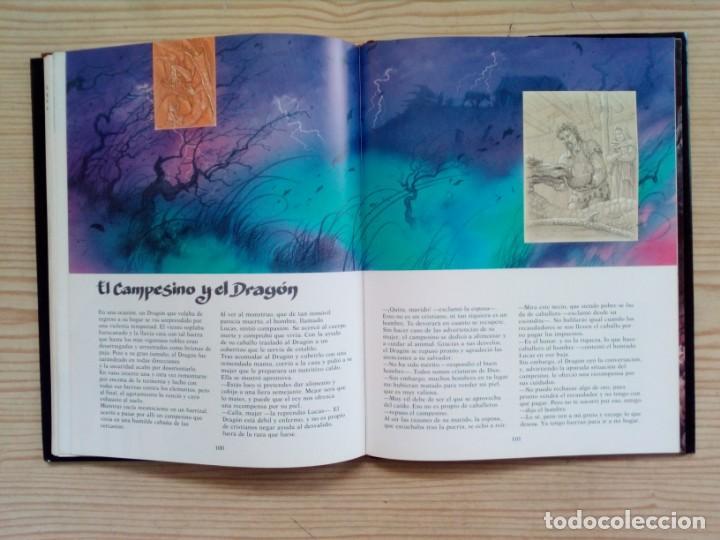 Libros de segunda mano: El Gran Libro Del Dragon - Ilustraciones De Ciruelo - Timun Mas - Foto 4 - 155867674
