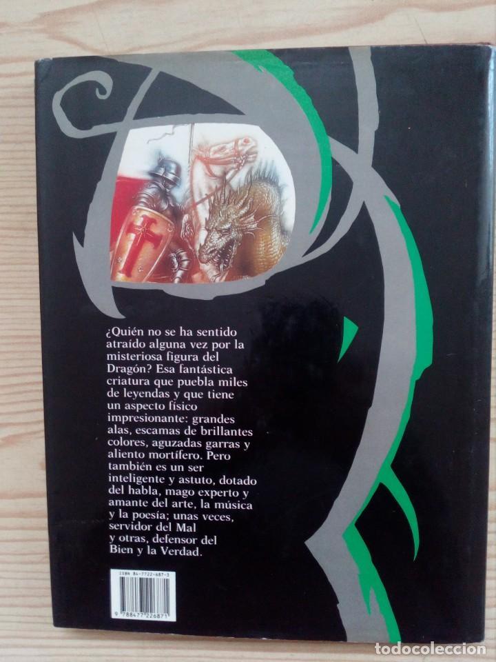 Libros de segunda mano: El Gran Libro Del Dragon - Ilustraciones De Ciruelo - Timun Mas - Foto 5 - 155867674