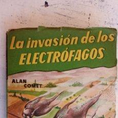 Libros de segunda mano: ROBOT EDITORIAL MANDO Nº 2 - CIENCIA FICCION - ALAN COMET - AÑOS 50, LA INVASION DE LOS ELECTRÓFAGOS. Lote 155993606