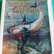 Livres d'occasion: VEINTE MIL LEGUAS DE VIAJE SUBMARINO AÑO 1941. Lote 158001642