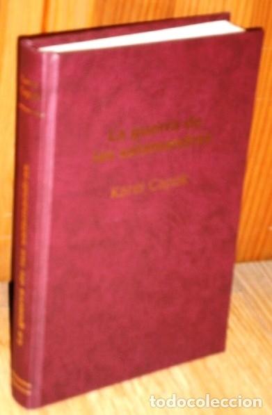 LA GUERRA DE LAS SALAMANDRAS POR KAREL CAPEK DE EDITORIAL ARTE Y LITERATURA EN LA HABANA 1978 (Libros de Segunda Mano (posteriores a 1936) - Literatura - Narrativa - Ciencia Ficción y Fantasía)