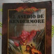 Libri di seconda mano: DRAGONLANCE, EL ASEDIO DE KENDERMORE. INTERREGNO. LIBRO 1. CHRIS PIERSON. Lote 158298470