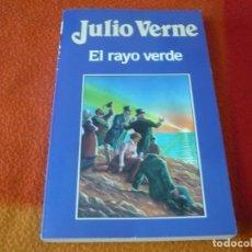 Libros de segunda mano: EL RAYO VERDE ( JULIO VERNE 2 ) ¡BUEN ESTADO!. Lote 158415198