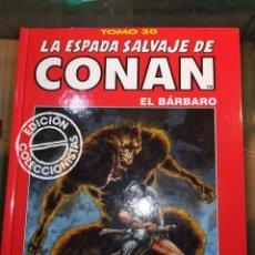Libros de segunda mano: LA ESPADA DE CONAN EL BARBARO, ED. 1989, BLANCO Y NEGRO, 64 PAGINAS. Lote 158888406
