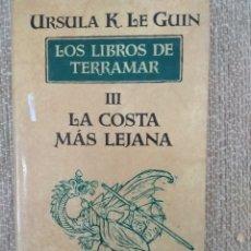 Libros de segunda mano: LOS LIBROS DE TERRAMOR III. LA COSTA LEJANA. ÚRSULA K. LE GUIN. MINOTAURO. Lote 159549836
