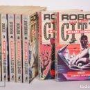 Libros de segunda mano: COLECCIÓN COMPLETA DE 8 TOMOS ROBOT CITY. ROBOTS & ALIENS, ISAAC ASIMOV - EDITORIAL MOLINO, AÑOS 90. Lote 159659054