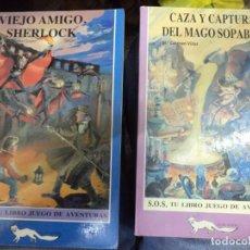 Libros de segunda mano: LOTE 2 LIBRO JUEGO DE AVENTURAS S.O.S.JUCAR JUVENIL 1986.Nº 5 Y Nº 9.. Lote 159827678