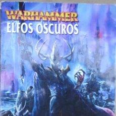 Libros de segunda mano: LOTE Nº 27 REVISTA WARHAMMER ELFOS OSCUROS 2001. Lote 160350826
