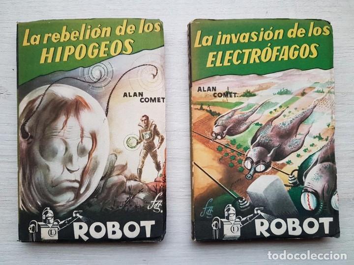Libros de segunda mano: COLECCIÓN COMPLETA ROBOT - ALAN ROBOT - 15 LIBROS BUEN ESTADO - CIENCIA FICCIÓN - EDITORIAL MANDO - Foto 2 - 160404198