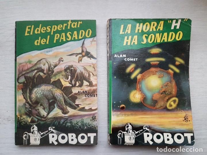 Libros de segunda mano: COLECCIÓN COMPLETA ROBOT - ALAN ROBOT - 15 LIBROS BUEN ESTADO - CIENCIA FICCIÓN - EDITORIAL MANDO - Foto 5 - 160404198