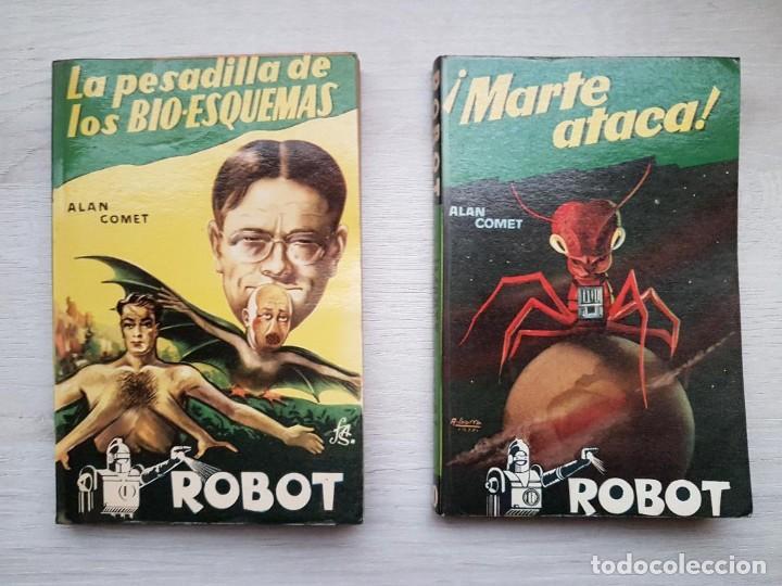 Libros de segunda mano: COLECCIÓN COMPLETA ROBOT - ALAN ROBOT - 15 LIBROS BUEN ESTADO - CIENCIA FICCIÓN - EDITORIAL MANDO - Foto 6 - 160404198