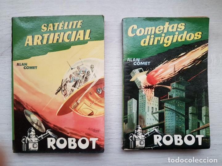 Libros de segunda mano: COLECCIÓN COMPLETA ROBOT - ALAN ROBOT - 15 LIBROS BUEN ESTADO - CIENCIA FICCIÓN - EDITORIAL MANDO - Foto 7 - 160404198