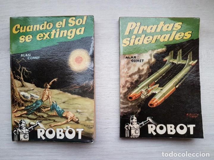Libros de segunda mano: COLECCIÓN COMPLETA ROBOT - ALAN ROBOT - 15 LIBROS BUEN ESTADO - CIENCIA FICCIÓN - EDITORIAL MANDO - Foto 8 - 160404198