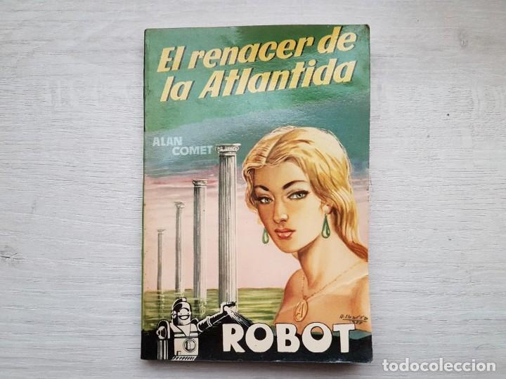 Libros de segunda mano: COLECCIÓN COMPLETA ROBOT - ALAN ROBOT - 15 LIBROS BUEN ESTADO - CIENCIA FICCIÓN - EDITORIAL MANDO - Foto 9 - 160404198